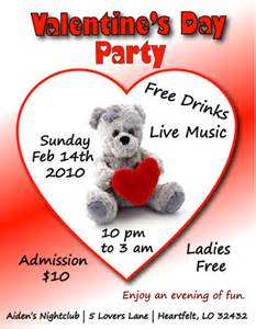 Valentines Flyer Templates Free by S Day Flyer Template Free View Larger Image