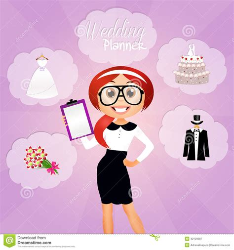 Wedding Planner Images by Wedding Planner Stock Illustration Image 42129987