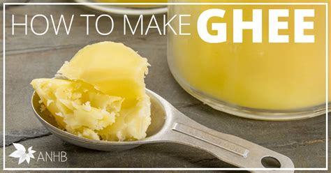 How To Detox With Ghee by How To Make Ghee All Home And