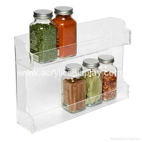 Acrylic Spice Rack by Plastic Display Stands For Spice China Manufacturer