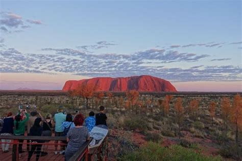 View Of Uluru At Sunset Picture Of Desert Gardens Hotel Desert Gardens Ayers Rock