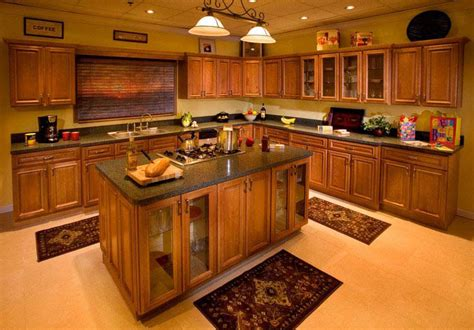 Decorating Kitchen Island by Wood Kitchen Cabinets Pictures Best Kitchen Places