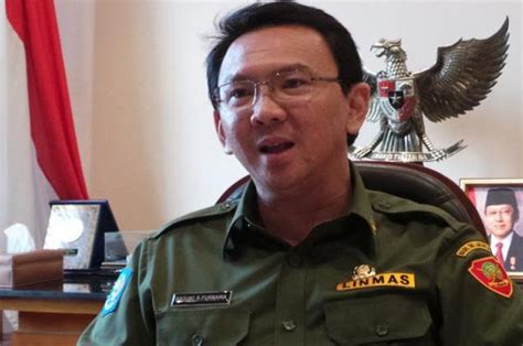 ahok interview ahok blames subdistrict head for inundation at ministers
