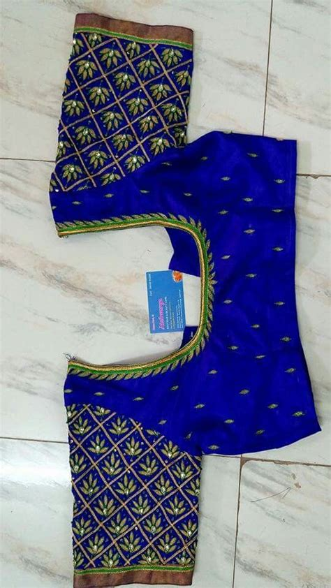 blouse pattern works 476 best images about maggam works on pinterest