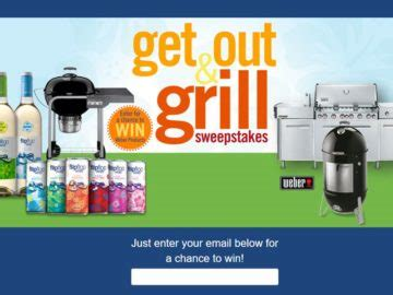 Grill Giveaway 2017 - flipflop wines get out and grill sweepstakes giveaway gorilla