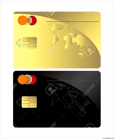 blank credit card template blank visa credit card template template update234