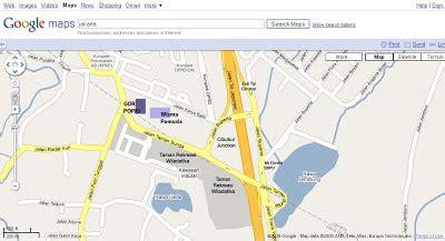 indonesia karate  maps gor popki cibubur