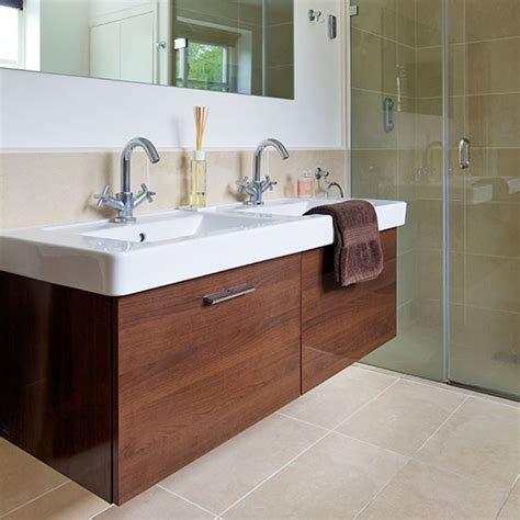 Contemporary Bathroom Vanity Units Modern Bathroom With Vanity Unit Decorating Ideal Home