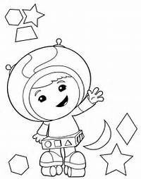 Printable Team Umizoomi Coloring Pages Me