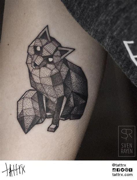 geometric tattoos animals best 25 geometric animal ideas on