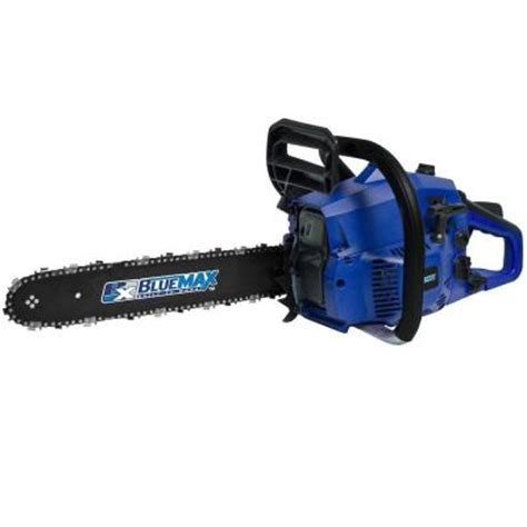 Chainsaws At Home Depot blue max 16 in 38cc high performance gas chainsaw 5466
