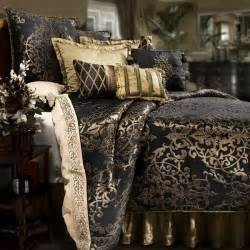 Gold And Black Bedding by Purple And Gold Comforter Sets Home Design And Interior