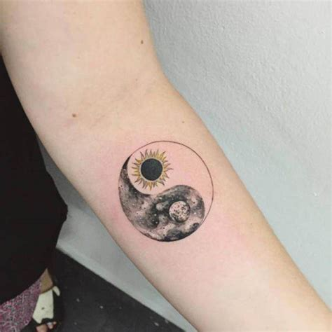 sun and moon tattoos for men 125 sun and moon designs for