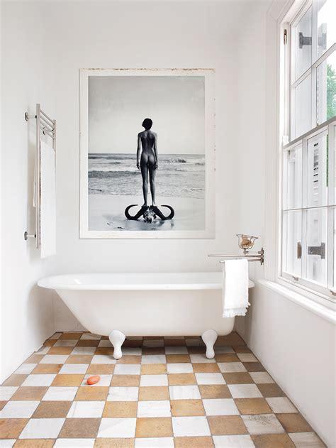 checkerboard bathroom floor metallic checkerboard floors a trick for visualizing