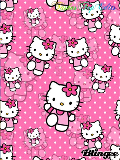 hello kitty wallpaper on tumblr hello kitty background picture 106292013 blingee com