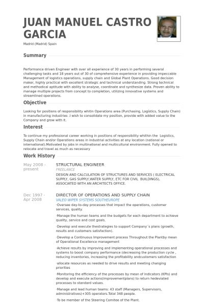 Structural Engineering Resume Template by Structural Engineer Resume Sles Visualcv Resume