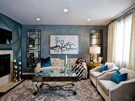 Rich Living Room by Living Room And Dining Room Decorating Ideas And Design
