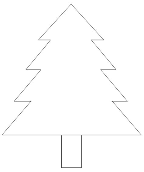 christmas tree cut out template new calendar template site