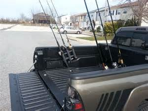 diy fishing rod holder using rotopax mount for toyota