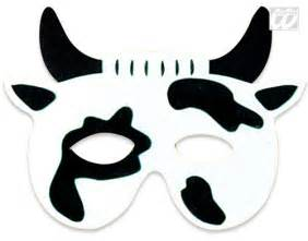 cow mask template the gallery for gt cow mask template