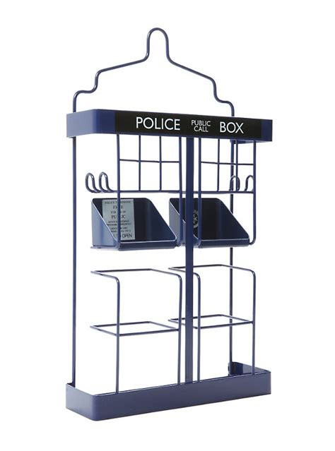 Rack Doctor by Doctor Who Tardis Shower Rack Topic