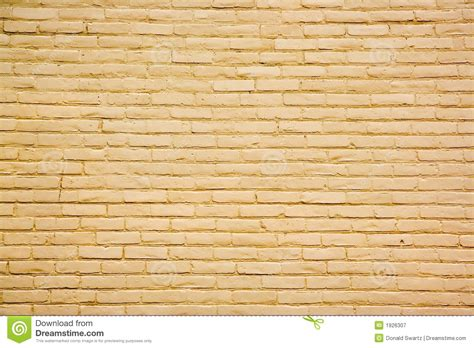 Rectangle House Plans Yellow Brick Wall Background Stock Image Image 1926307