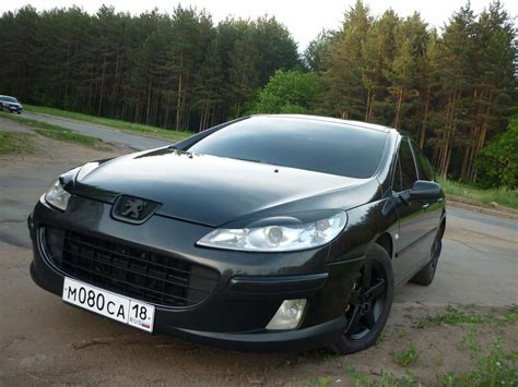 peugeot 407 coupe tuning car vehicle peugeot 407 tuning