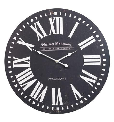 shabby chic wall clocks shabby chic large wall clock 60cm 300577