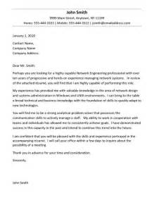 engineering cover letter exle