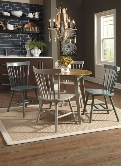 circular dining room table d389 15 ashley furniture bantilly round dining room table