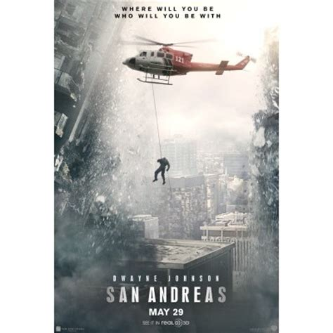 Poster San Andreas Alternate Textless 20x30cm san andreas poster poster awards gallery