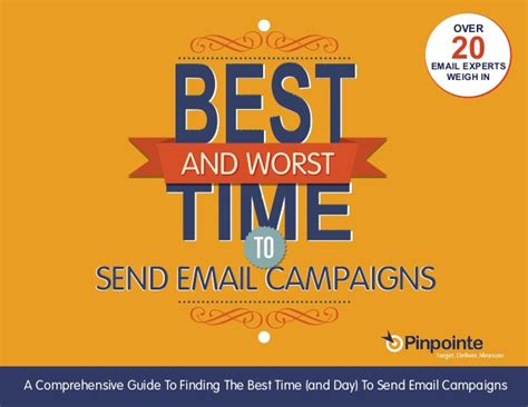 the best of times the worst of times a history of now books guide the best and worst times to send email caigns