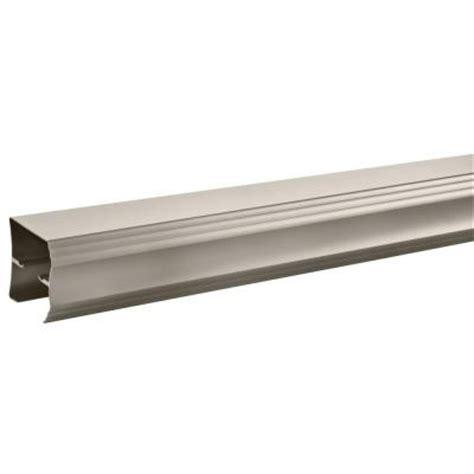 Sliding Shower Door Track Delta 60 In Sliding Shower Door Track Assembly Kit In Nickel