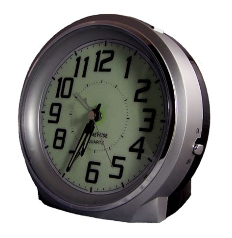 bell ringer analog alarm clock by timewise loud alarm hearing impaired alarm clock