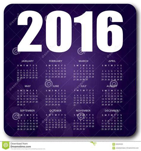 english calendar 2016 design stock vector image 61777684 2016 english calendar purple stock vector image 63529403