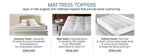 bed bath pillow top mattress pad mattress toppers and pads macy s
