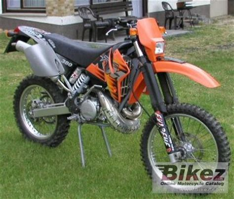 Ktm 380 Exc For Sale 2000 Ktm 380 Exc Specifications And Pictures