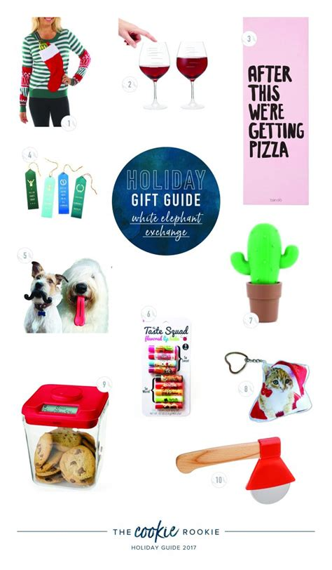 tacky gift swap ideas gift guide best white elephant gifts the cookie rookie 174