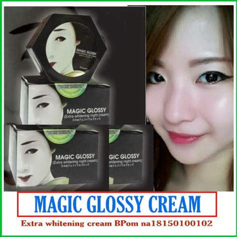 Magic Glossy Whitening magic glossy whitening tambah cantik