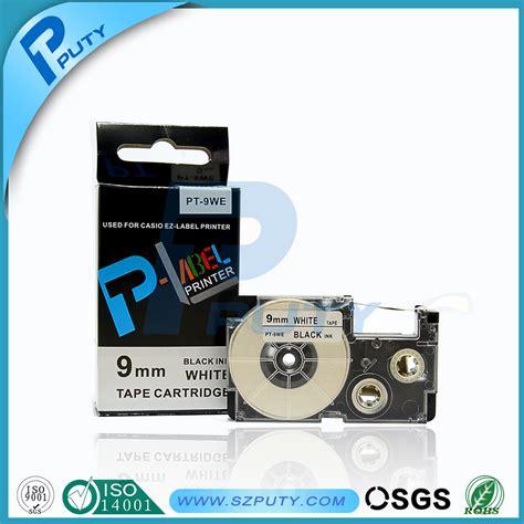 Label Printer Casio 9mm sale casio label 9mm black on white xr 9we pt 9we 100 compatible wholesale gadgets