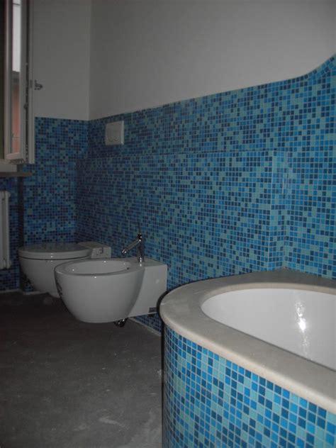 Piastrelle Bagno Mosaico Azzurro by Bagno Mosaico Azzurro