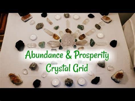 universal abundance  prosperity crystal grid april