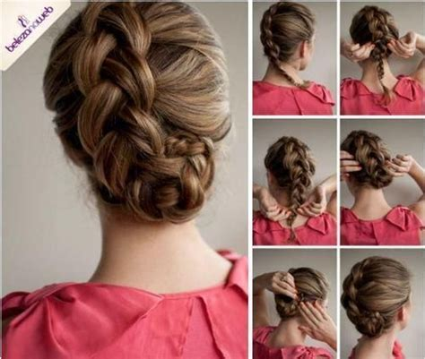 how to do cotillion hairstyles for a twelve year old ひとひねり裏編み込み アイデア満載ステップ付き 海外サイトの簡単可愛いヘアアレンジ まとめ髪 naver まとめ
