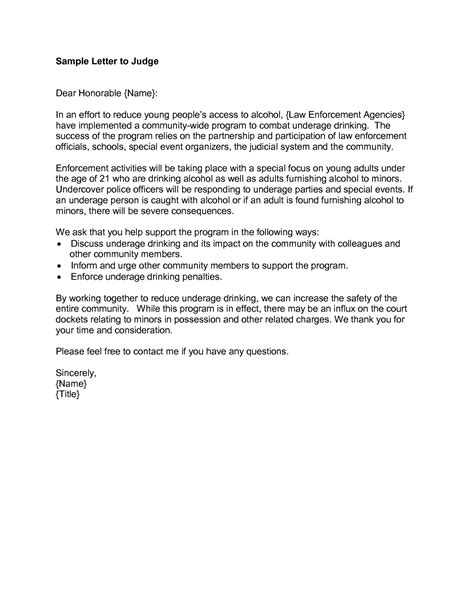 Character Letter Ideas character letter to judge exle how to format cover letter