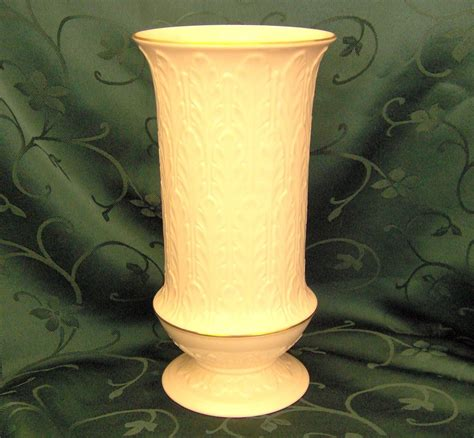 Lenox China Vase by Lenox China Vase In The Discontinued Autumn Leaf