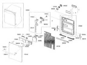 door assy diagram parts list for model dmr77lhsxaa0000 samsung parts dishwasher parts