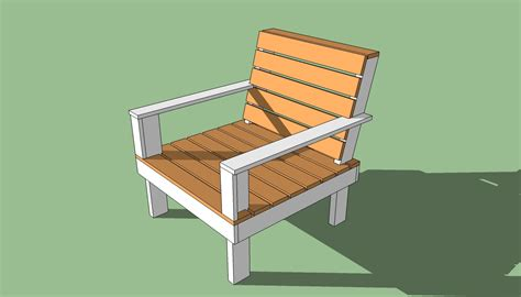outdoor chair plans diy  woodworking