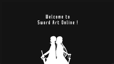 black and white wallpaper online sword art online decal wallpaper 1384402