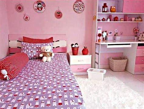 desain kamar tidur anak perempuan minimalis usia