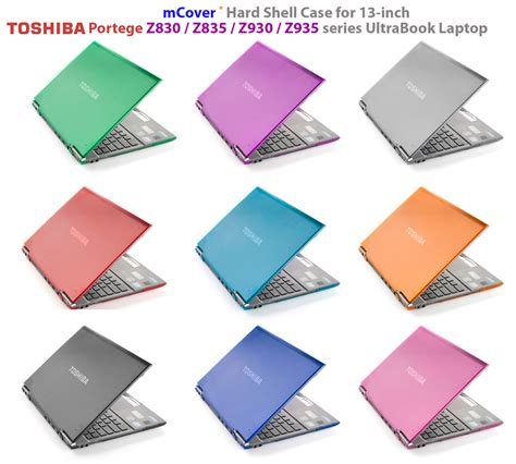 clear mcover 174 shell for 13 quot toshiba portege z830 z835 series ultrabook